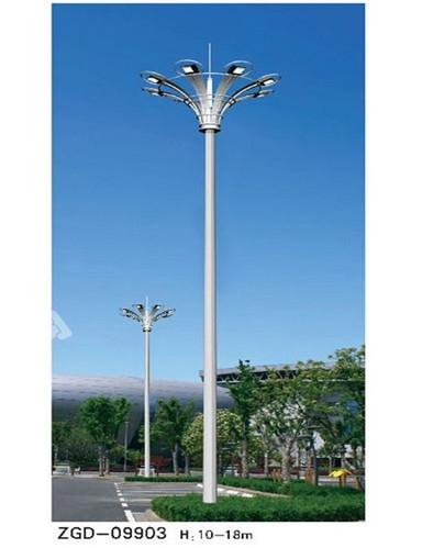 上海球场中杆灯