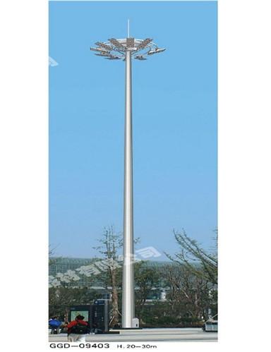服务区高杆灯