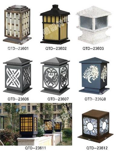 上海道路柱头灯
